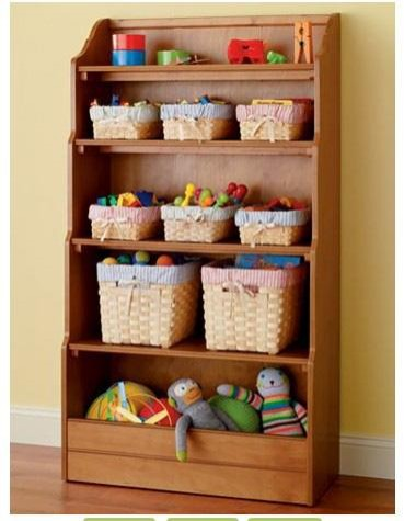 bookcase with toy box sweet pea baby direct. Black Bedroom Furniture Sets. Home Design Ideas